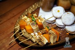 Swank Farms - Gauchos Asado Dinner - Roasted Marshmallow and Butternut Squash Skewers
