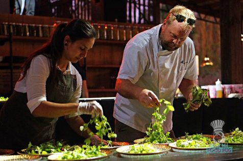 Swank Farms - Gauchos Asado Dinner - Salad Prep
