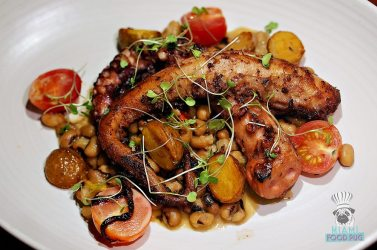 The Social Club - Charred Spanish Octopus