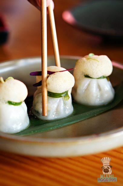 Tanuki - Brunch - Tom Yum Shrimp Moneybag