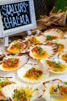 La Mar - Brunch - Scallops Chalaca