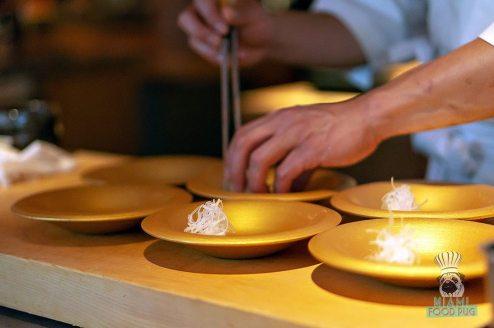Azabu - Omakase - Plate Prep
