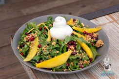 Malibu Farm - Burrata Fruit Salad