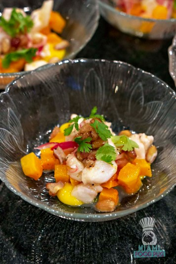 Estancia Culinaria x Heirloom Hospitality Group Farm to Farm Dinner - Black Grouper Ceviche