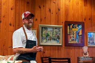 Estancia Culinaria x Heirloom Hospitality Group Farm to Farm Dinner - Chef Phil Bryant
