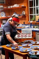 Estancia Culinaria x Heirloom Hospitality Group Farm to Farm Dinner - Composing