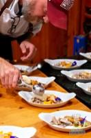 Estancia Culinaria x Heirloom Hospitality Group Farm to Farm Dinner - Scooping