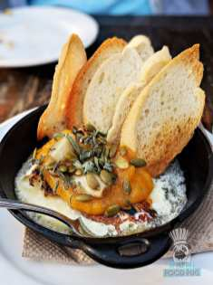 The Running Goose - Baked Brie