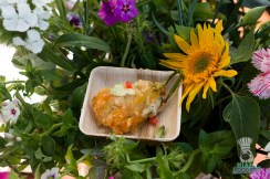 Swank Table - Farm Market Dinner - Fried Zucchini Blossoms by Brulé Bistro