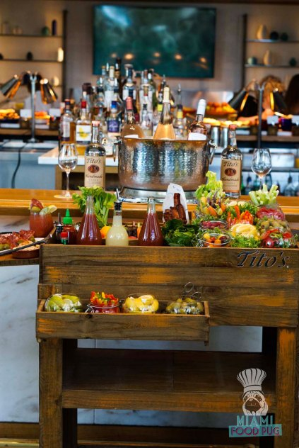 Point Royal - Brunch - Bloody Mary Cart