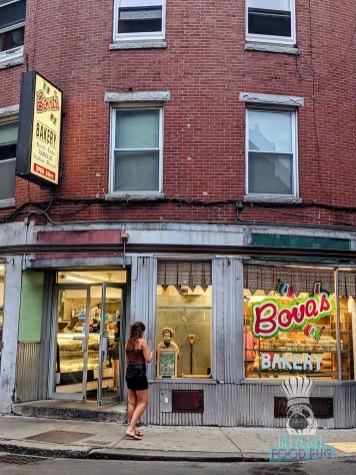 Bova's Bakery - Storefront