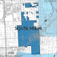 Miami-Dade Municipality: South Miami, 2014. Source: Matthew Toro. 2014. [Note: Data used carry some minor geometric inaccuracies/errors. Not to be used for legal purposes.]