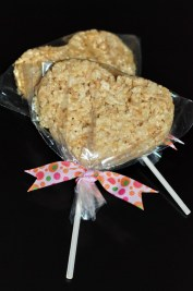 Heart Rice Krispie Treats