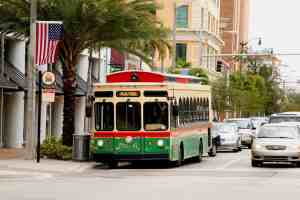 Free transportation in and around Miami