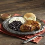 Free Pollo Tropical meal for military on second Tuesday of month