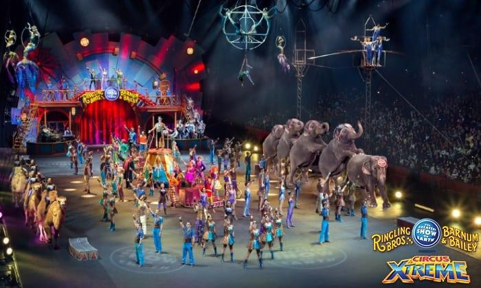 Xtreme Ringling Brothers Behind Circus