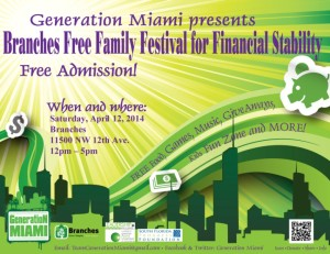 Branches Family Fest flyer