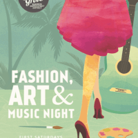 Fashion Art Music Night