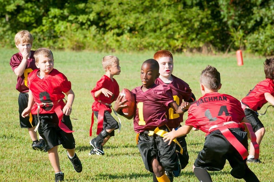 Free football and cheerleading camp