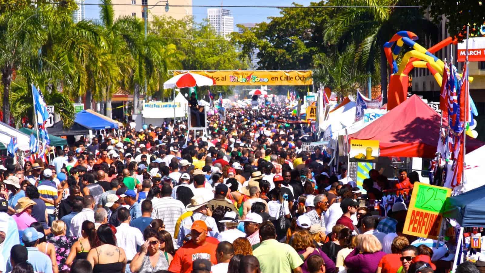 Free Calle Ocho Street Festival Miami On The Cheap