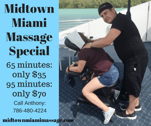 Miami massage deal
