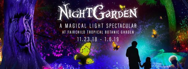 Nightgarden at fairchild tropical botanic garden extended - Fairchild tropical botanic garden hours ...