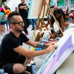 Free art & sip at CityPlace Doral