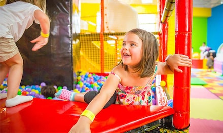 One-day Unlimited Admission Pass for Two or Four Kids at Just 4 Fun (Up to 39% Off)