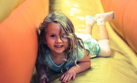 Two or Four Indoor Open-Play Sessions at Jump A Roos (Up to 38% Off)