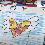 Romero Britto can entertain your kids with his art