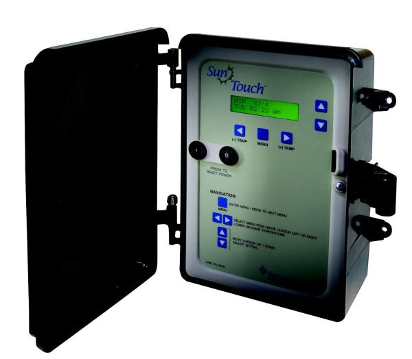 Pentair 520820 SunTouch 2-Actuators 2-Temperature Sensor Pool and Spa Control System, Black
