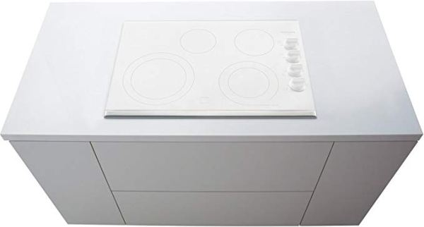 Frigidaire FGEC3065KW Gallery 30 White Elétrico Smoothtop Cooktop