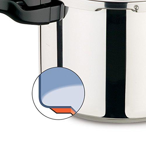 Panela de Pressão Presto 5.7 litros aço inoxidável 13624