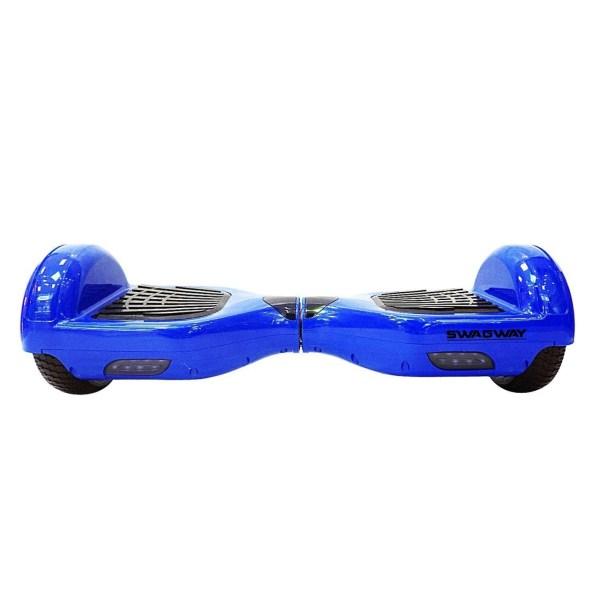 Skate Eletrico Scooter 2 Rodas cor Azul Peso Max 100kg Segway Swagway X1 Self Balancing Electric Unicycle