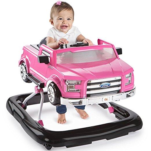 Andador 3 em 1 Ford-150 Bright Starts 3 Ways to Play Adjustable Portable Rosa2