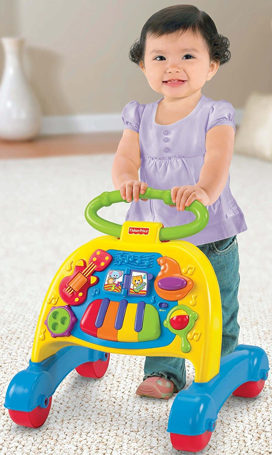 Andador Fisher Price Banda Musical Brilliant Basics