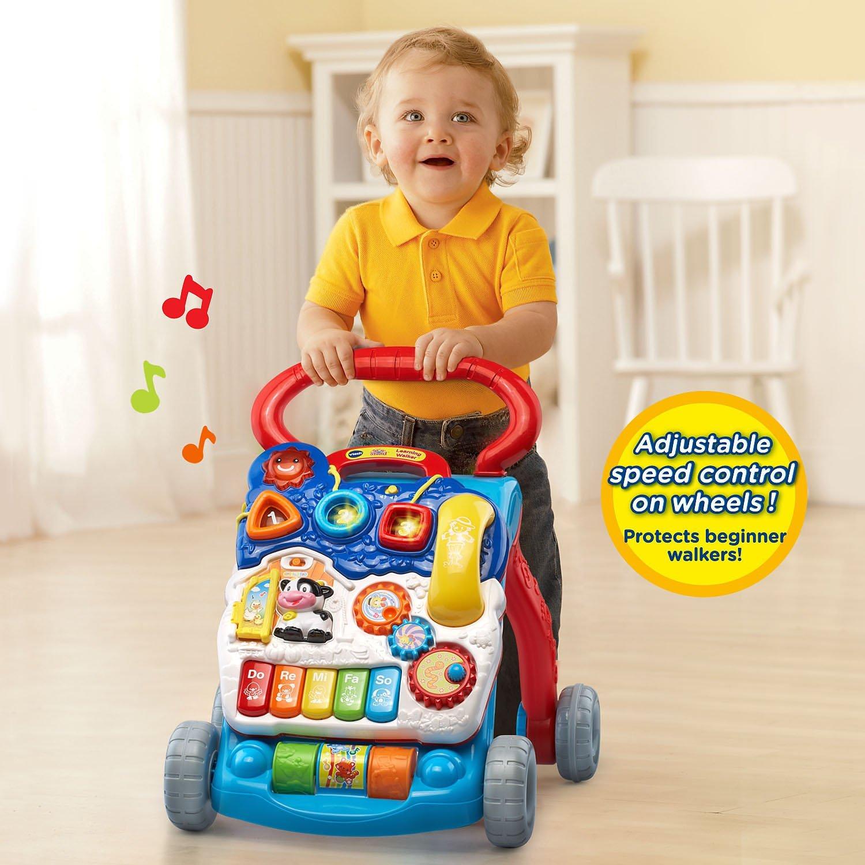 Andador Infantil com Atividades Divertidas e Educativas VTech Azul2