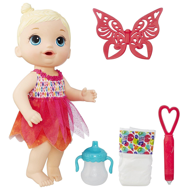 BABY ALIVE HORA DA FESTA Baby Alive Face Paint Fairy Loira