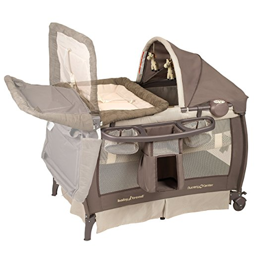 Baby Trend Deluxe Nursery Center, Hudson 2