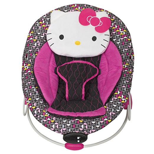 Baby Trend Hello Kitty Bouncer, Pinwheel 5