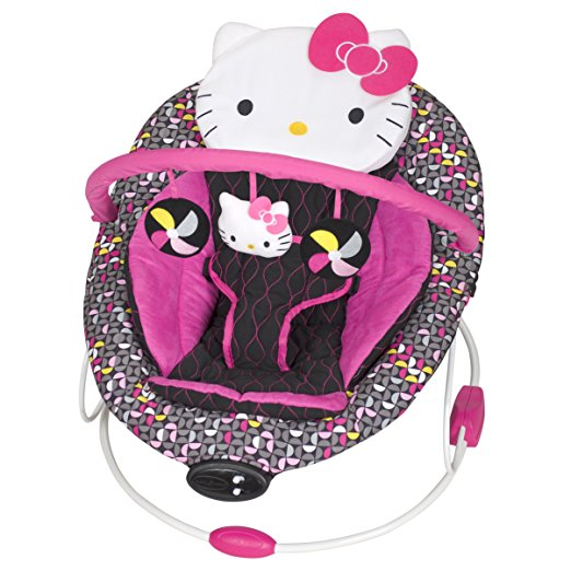 Baby Trend Hello Kitty Bouncer, Pinwheel