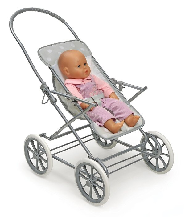 Badger Basket Just Like Mommy 3-in-1 Doll Pram4