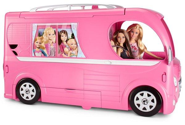 Barbie Veículo de Acampamento Pop-Up Camper Vehicle5
