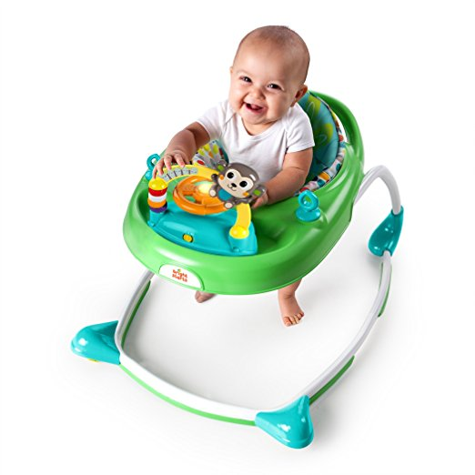 Bright Starts 2-in-1 Walkin' Wild Walker, Green 2