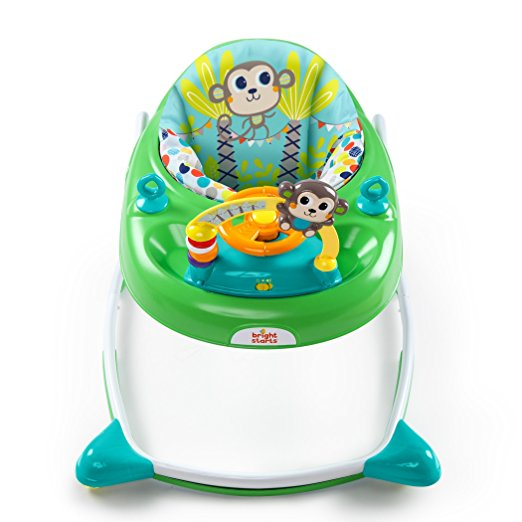 Bright Starts 2-in-1 Walkin' Wild Walker, Green 7