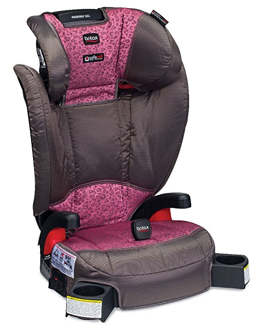 Assento para Carro Britax Parkway SGL G1.1 Belt Positioning Booster Seat Cub Pink Baby