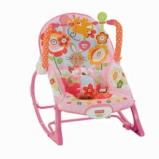 Cadeira Balanço Minha Infância Fisher Price Y4544 Meninas 2