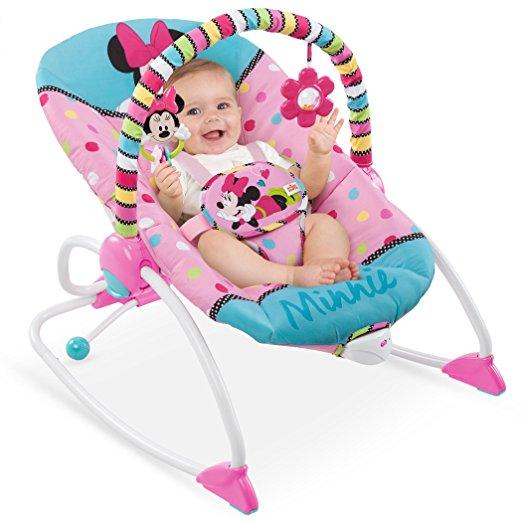 Cadeirinha de balanço Disney Baby To Big Kid Rocking Seat Minnie Peek A Boo 2