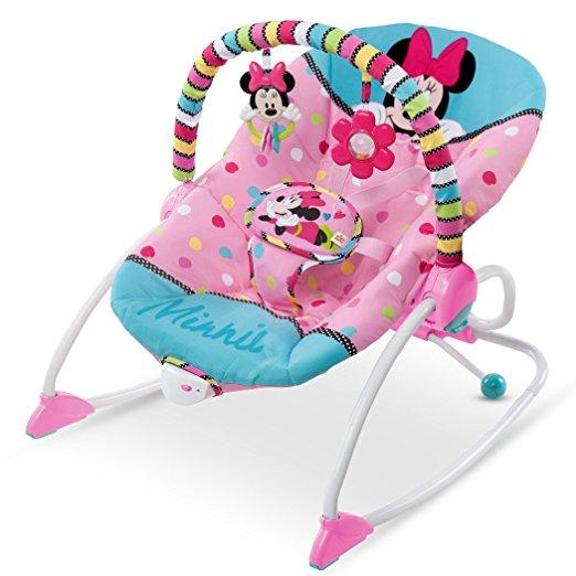 Cadeirinha de balanço Disney Baby To Big Kid Rocking Seat Minnie Peek A Boo