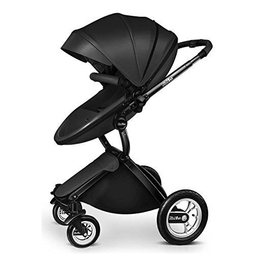 Carrinho de bebê 3 em 1 Baby Stroller 2017, 3 in 1 Function Travel System Baby Carriage and Bassinet Combo 2
